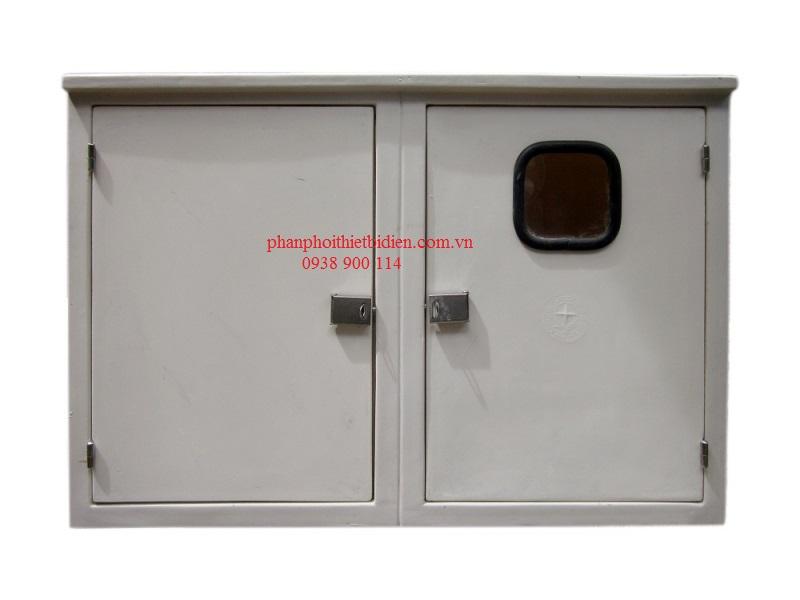 Tủ điện kế đôi composite 630x900x420