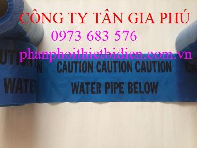 băng cảnh báo ống nước