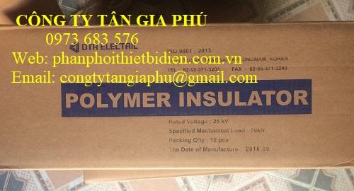 sứ treo polymer dtr