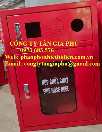 tủ chữa cháy đỏ